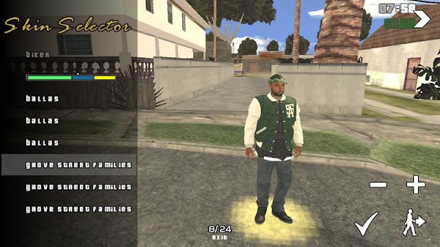 GTA V Families [Gang Members] Mod for Android