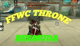 FFWC Throne bermuda,  Begini cara duduk di kursi FFWC Throne bermuda dan Lokasi FFWC Throne bermuda