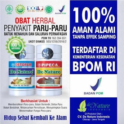 OBAT PARU PARU TBC DE NATURE NATURAL HERBAL ALAMI TRADISIONAL