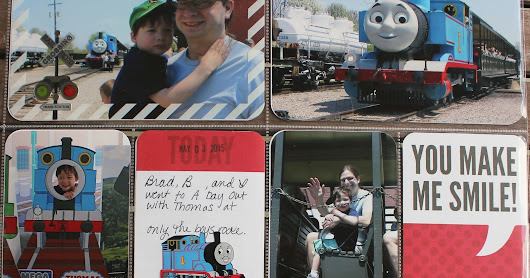 Katie's Nesting Spot: Project Life: A Day Out with Thomas, 2015