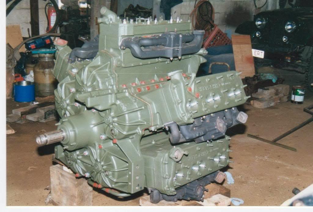 Chrysler A57 Tank Engine