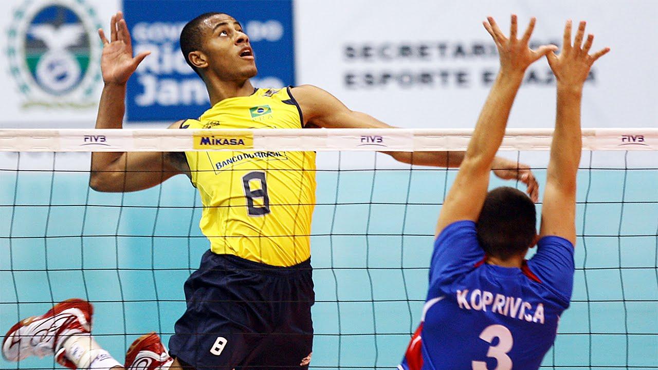 Ricardo Lucarelli Souza Wing Spiker Muda Terbaik Tim Bola Voli Nasional Brazil