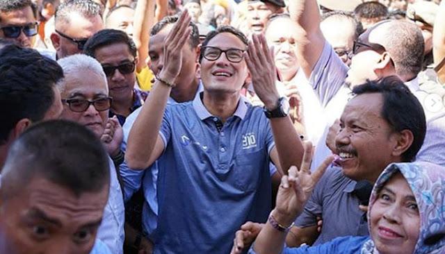 Prabowo - Sandi Target 'Manang Gadang' di Sumatera Barat, 90 Persen!