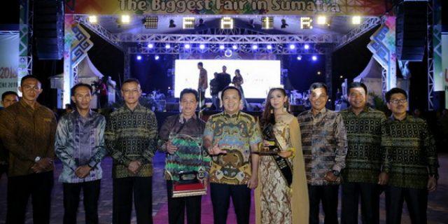 Gubernur Ridho Transaksi Lampung Fair 2018 Capai Rp.18.7 Milyar