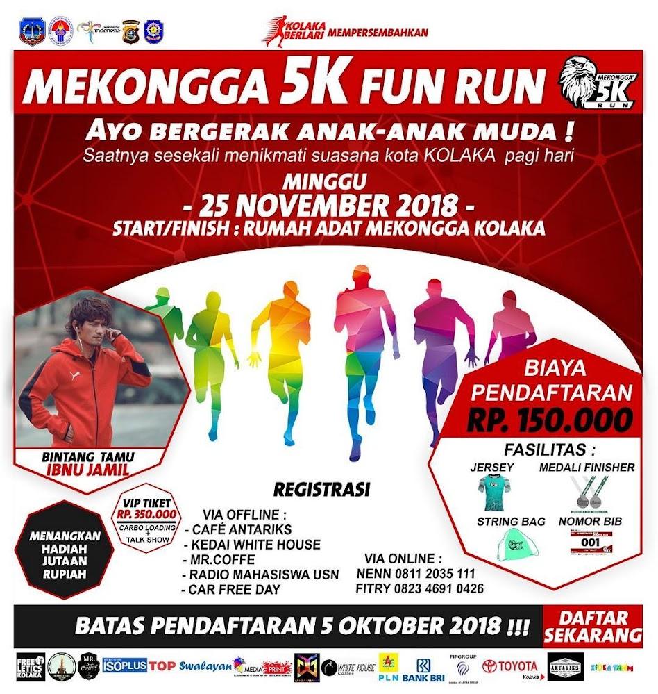 Mekongga 5K Run • 2018