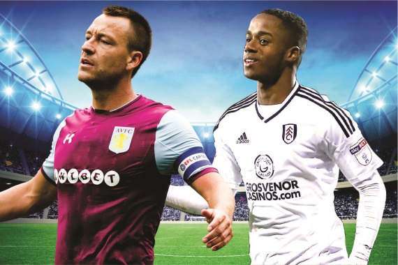 John Terry and Ryan Sessegnon