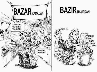Image result for bazar ramadhan bazir ramadhan