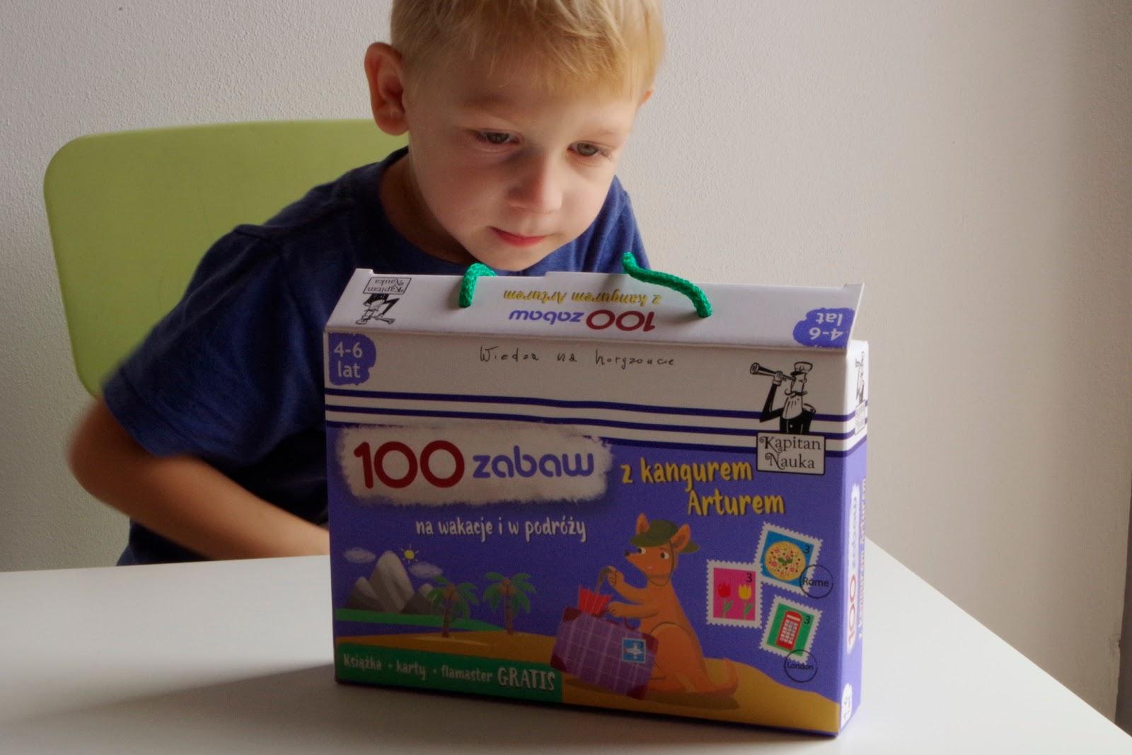 100 zabaw z kangurem Arturem
