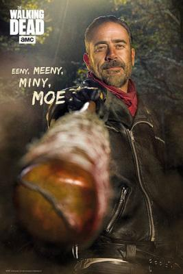 Poster Negan y Lucille