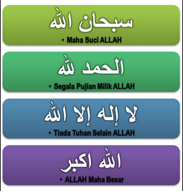 Bacaan Tasbih, Takbir, Tahlil, Tahmid, Istigfar Berserta Artinya