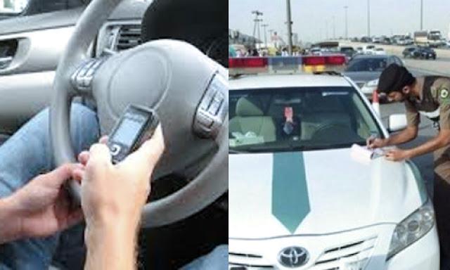 Mengemudi Sambil Gunakan Ponsel Di Saudi Bisa Dipenjara 24 Jam