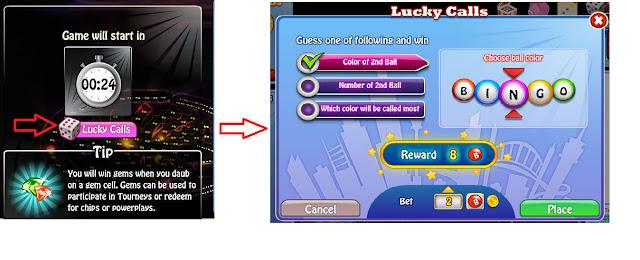Bingo Bash Lucky Calls