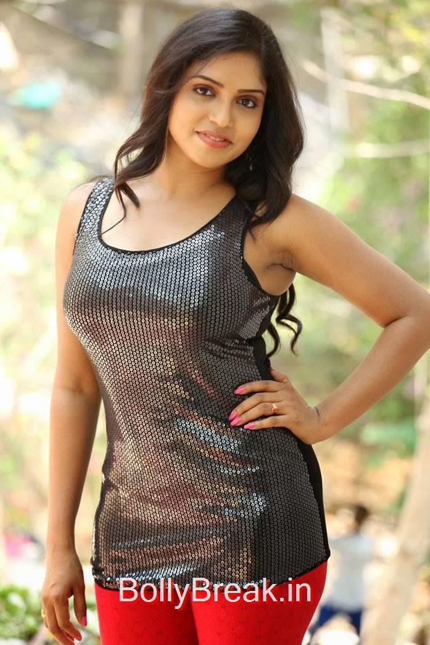 Karunya images, Actress Karunya Hot Pics  in Black Top