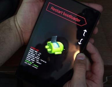 Restart Bootloader Mode Nexus 5