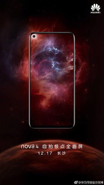 Huawei sẽ ra mắt Nova 4 vào ngày 17/12/2018 ảnh 2
