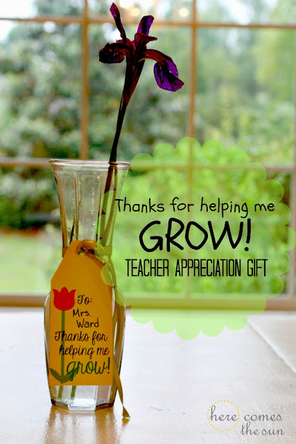Here Comes the Sun: FREE printable Teacher Appreciation Gift Tag