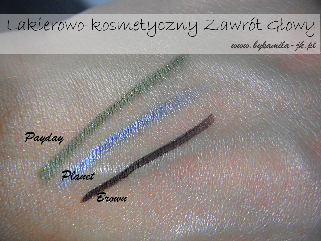 Prestige - kredka do oczu Payday Planet eyeliner brown