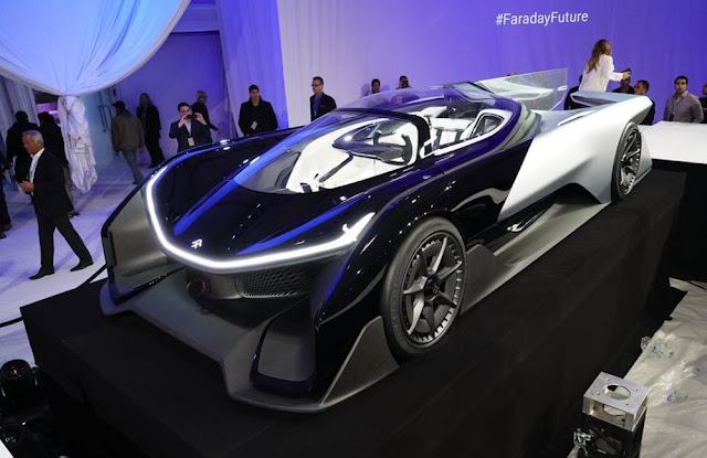 Faraday Future FFZERO1 car