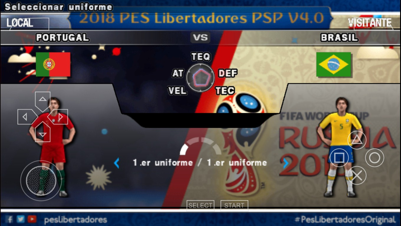 Softndroid: Download PES 2018 Mod World Cup + New Camera v4
