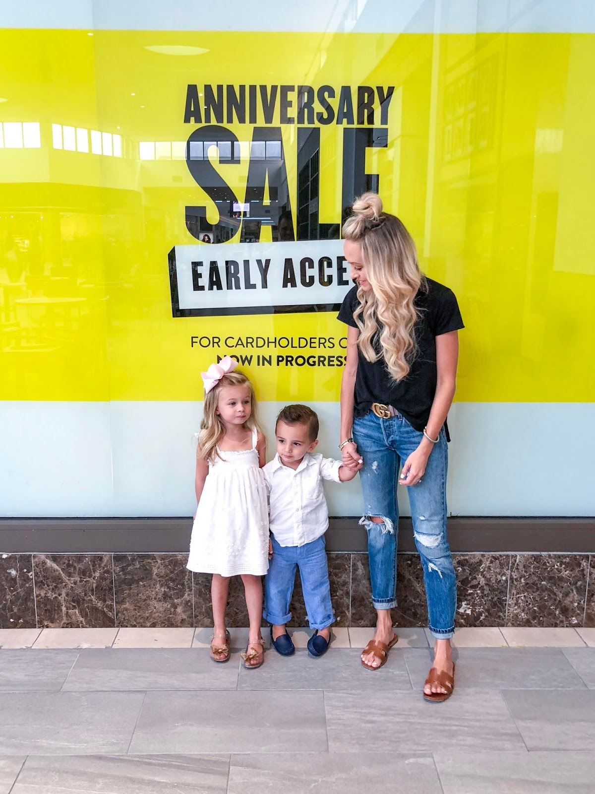 3f9bd56905e9 I remember three years ago shopping the sale with Andi and she was only 6  months old!)