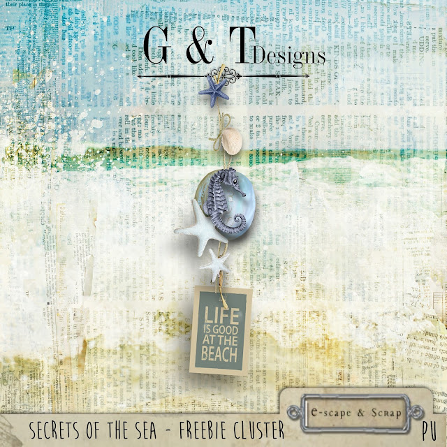 Secrets of the Sea Mega Kit & Freebie