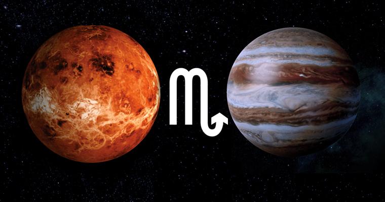 Секситль венеры и сатурна