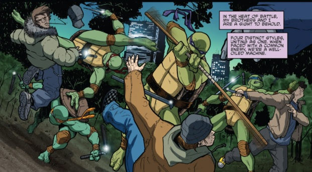 Comic Book Battles: Teenage Mutant Ninja Turtles vs Kraven the Hunter