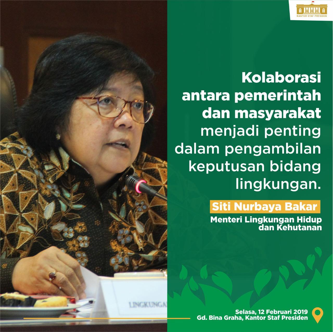 enteri KLHK, Siti Nurbaya Bakar