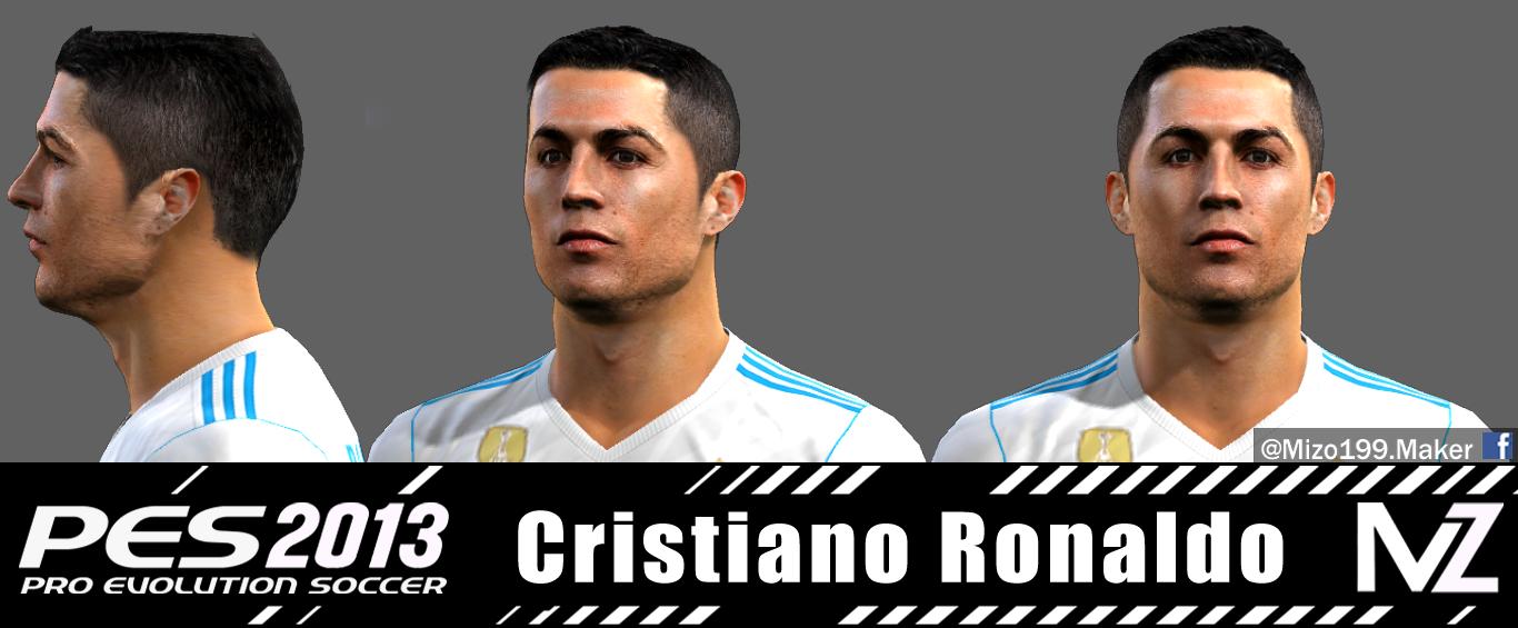 Pes 2013 Cristiano Ronaldo Face By Mizo 199 FaceMaker
