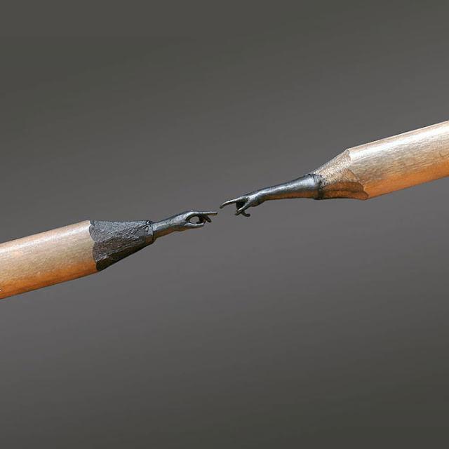 Kumpulan Ukiran Pensil Yang Unik Dan Bisa Kamu Tirukan Jika Kamu Mempunyai Keahlian