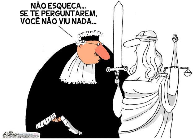 Resultado de imagem para JUSTIÇA COMPRADA CHARGES