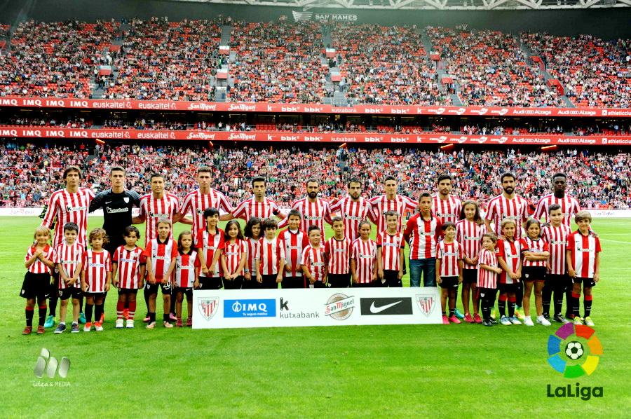 EQUIPOS DE FÚTBOL  ATHLETIC CLUB DE BILBAO contra Valencia 18 09 2016 5b6a94b1b3c1c