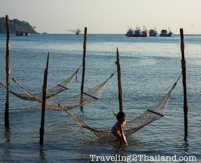 Beach life at Koh Kut, Thailand
