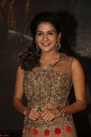 Jenny in brown transparent sleeveless anarkali dress at Shamanthakamani pre release function ~  Exclusive 052.JPG