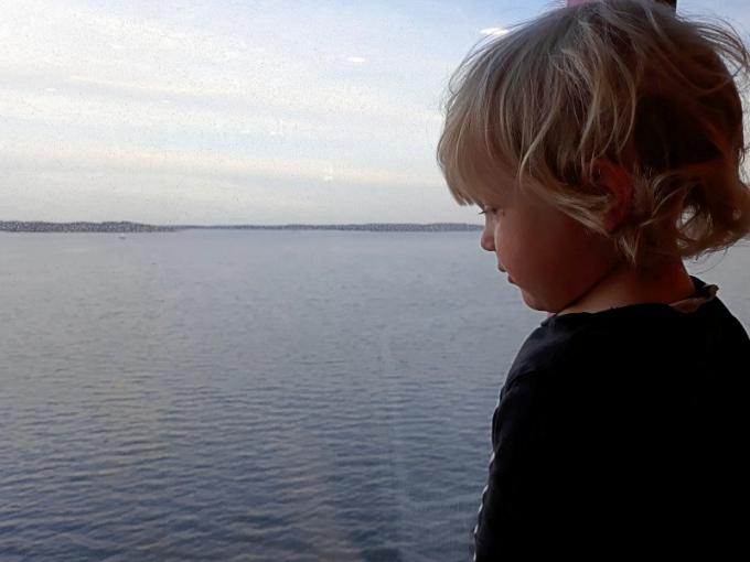 uusittu Baltic Princess lasten kanssa