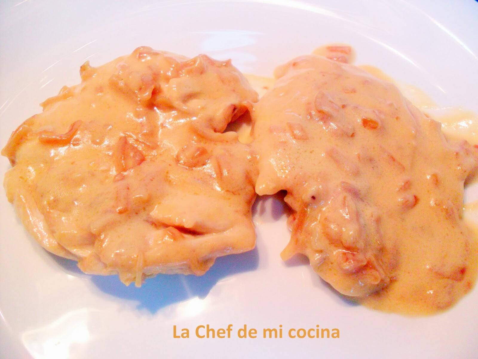 Pollo con salsa de queso multicook pro de tefal - Tefal multicook pro recetas ...