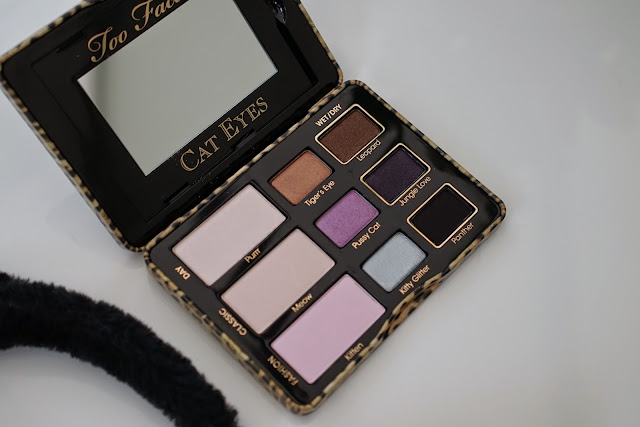 too faced cat eyes collection palette