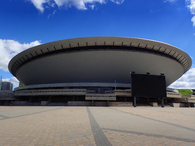 Katowicki Spodek - jedna z większych hal widowiskowych w Polsce