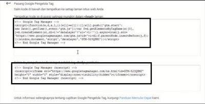 Cara Verifikasi Kepemilikan Blog dengan Google Pengelola Tag