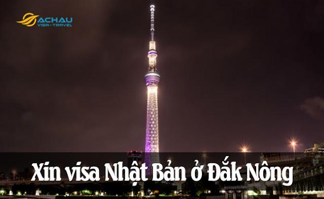 Xin visa Nhật Bản ở Đắk Nông