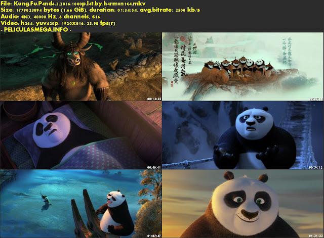 Descargar Kung Fu Panda 3 Latino por MEGA.