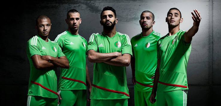 the algeria squad is pretty decent too at the moment including ryad boudebouz nabil bentaleb sofiane feghouli islam slimani yacine brahimi and of course