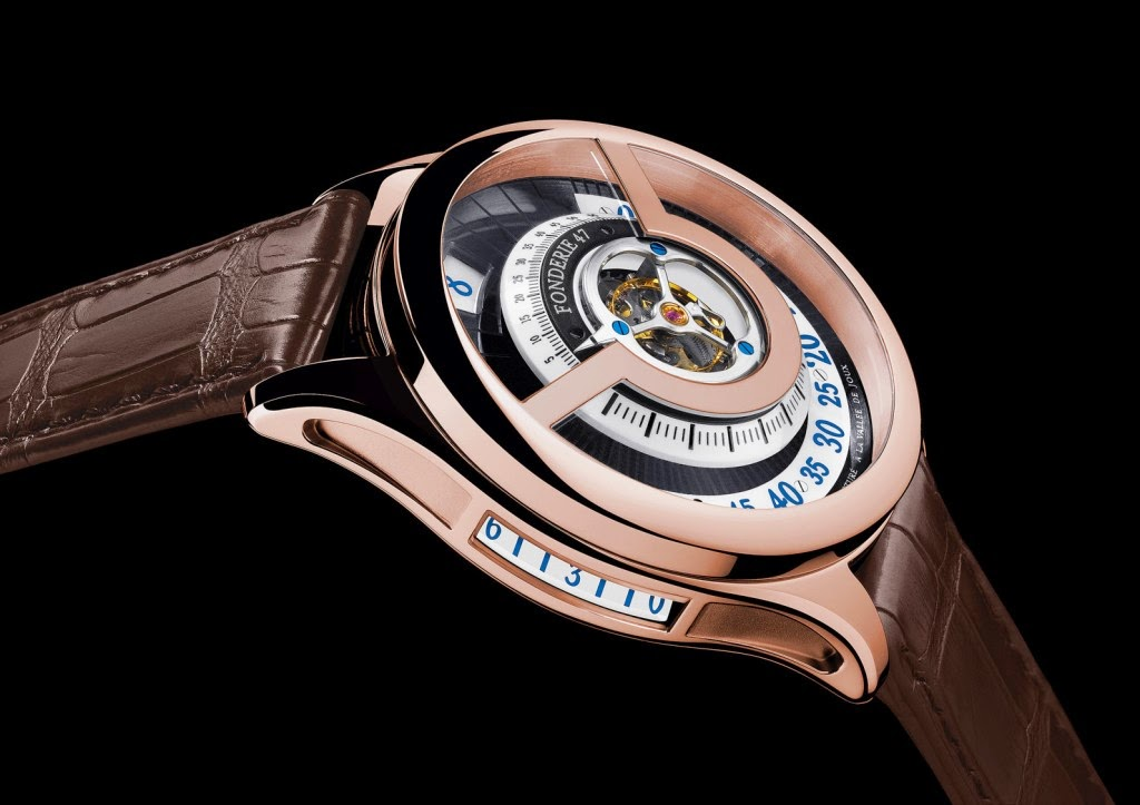Fonderie 47 Inversion Principle Red Gold Limited Edition