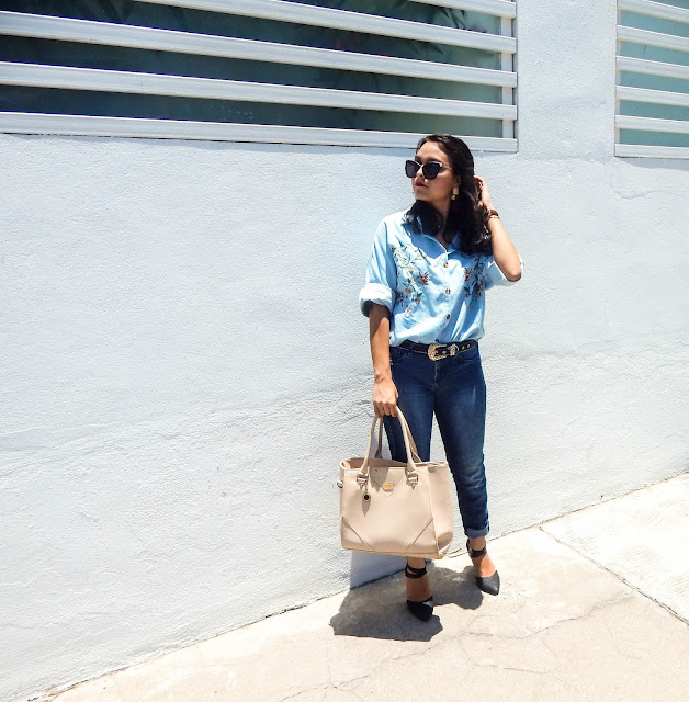 oversized shirt zaful ootd blogger