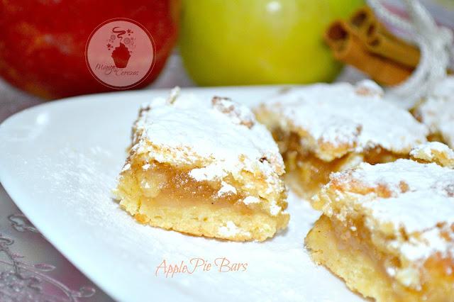 Apple Pie Bars, Barras de Manzanas