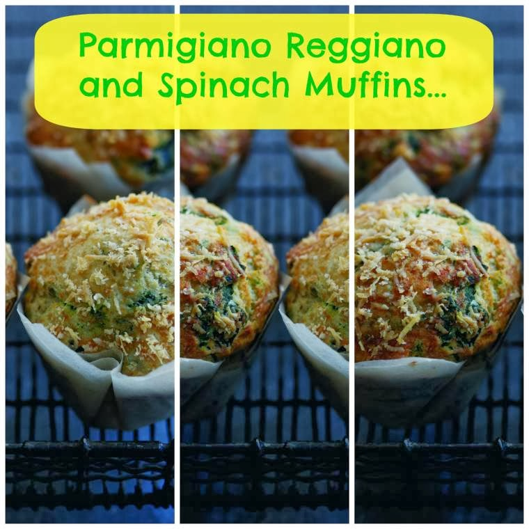 Parmigiano Reggiano And Spinach Muffins