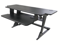heavy duty sit stand workstation