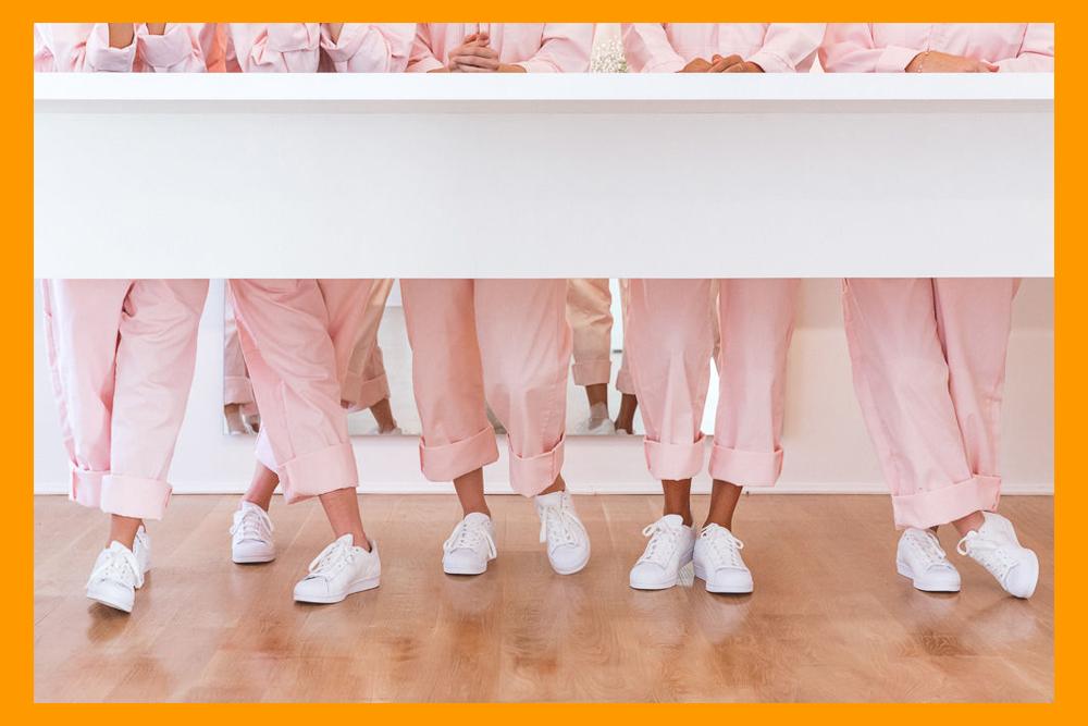 asos, glossier, pink, millennial pink, jumpsuit, boilersuit, jump suit, boiler suit, uniform, utility