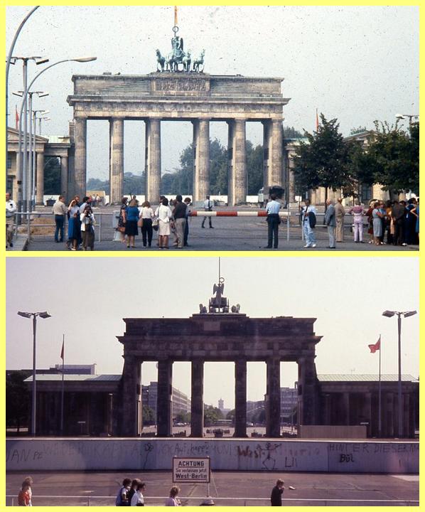 Puerta Brandeburgo Muro Berlín