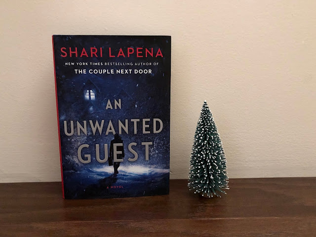 Book cover photo of An Unwanted Guest by Shari Lapena